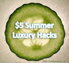 $5 Summer Luxury Hacks